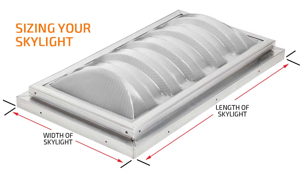 Skylight Cover Guard - Sizing Your Skylight