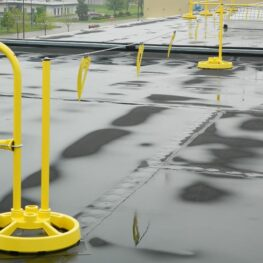 Permanent Warning Line System