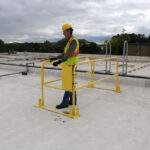 Gate & Guardrail Kit for Roof Ladder (LadderGuard)