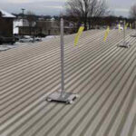 Fixed Roof Warning Lines – Corrugated Deck Kit