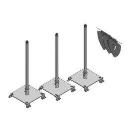 Fixed Roof Warning Lines - R-Panel Kit