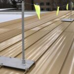 Fixed Roof Warning Lines – Standing Seam Kit