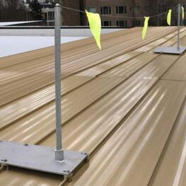 Fixed Roof Warning Lines - Standing Seam Kit