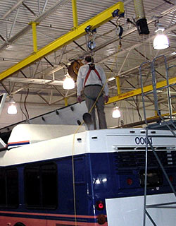 Bus Fall Protection
