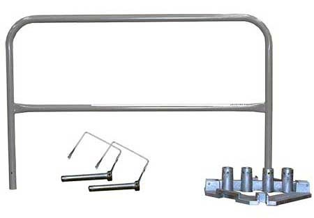 Steel Guardrails Galvanized Kit