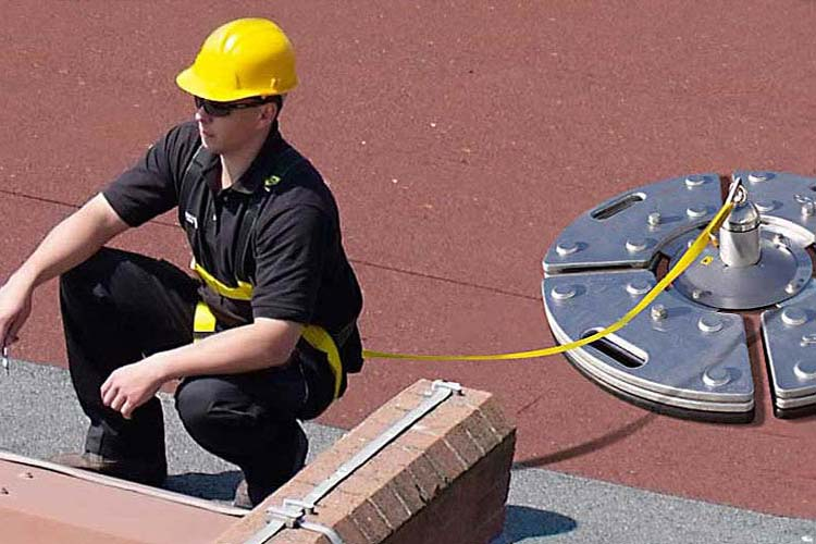 Portable Roof Counterweight Anchor