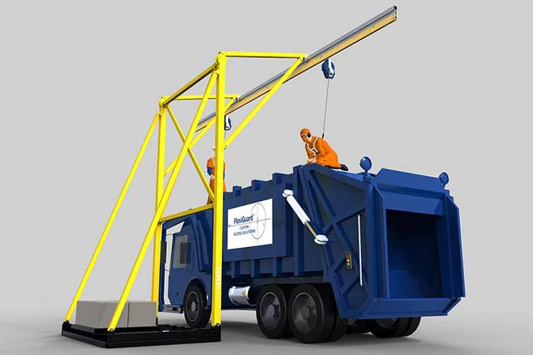 Portable Counterweight Anchors