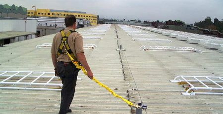 Roof Horizontal Lifeline
