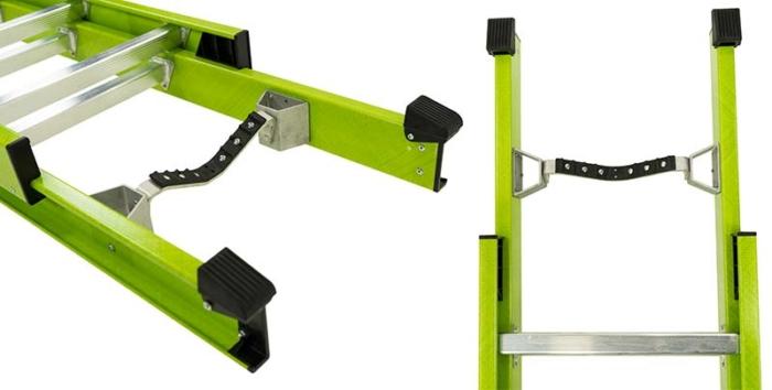 Extension Safety Ladder - V-Rung