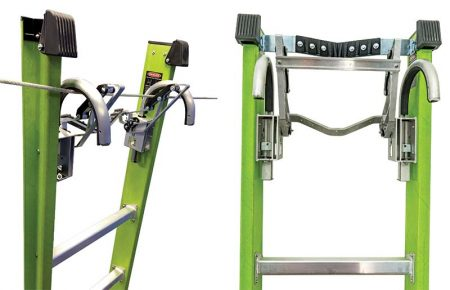 Extension Safety Ladder - Cable Hooks & Claw