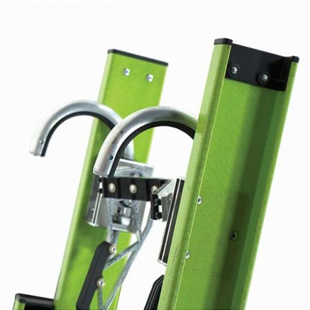 Extension Safety Ladder - Cable Hooks