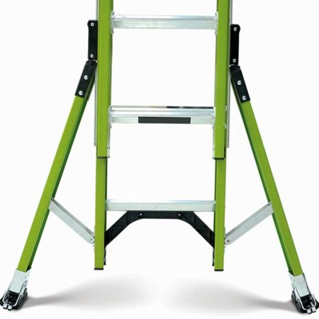 Extension Safety Ladder - Outriggers