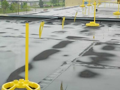 Roof Warning Lines