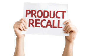 Product Recall/Replace/Stop Use