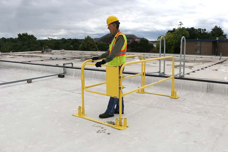 Gate & Guardrail Kit for Roof Ladder