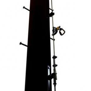 Wood Pole Ladder Cable System