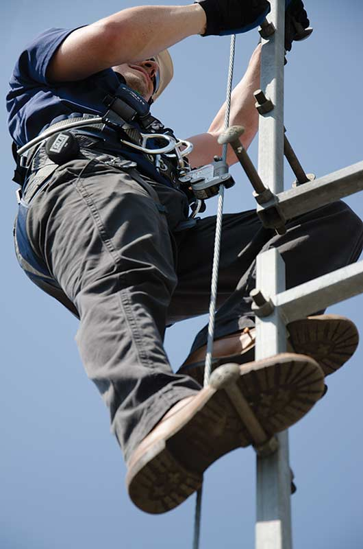 Ladder Cable Fall Arrest Cai Safety Systems
