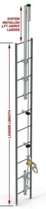 Ladder Cable Fall Arrest System