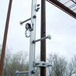 Ladder Rigid Track Fall Arrest – Steel Pole