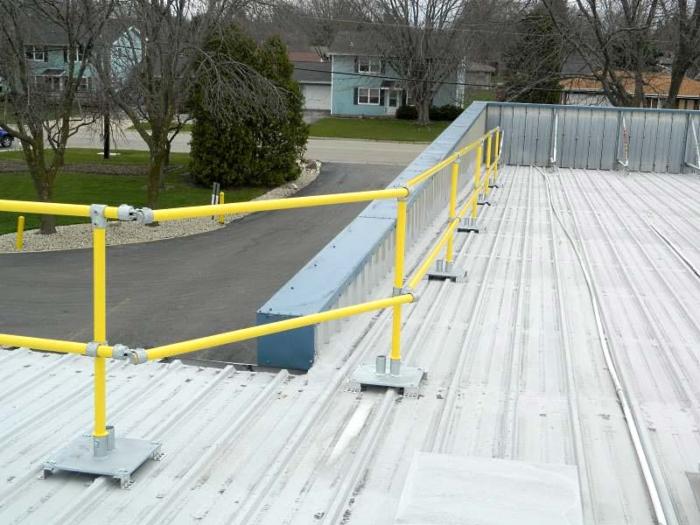 Steel Galvanized Guardrails - ADJUSTABLE CORNERS