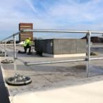 Steel Galvanized Guardrails – 90 DEGREE CORNERS