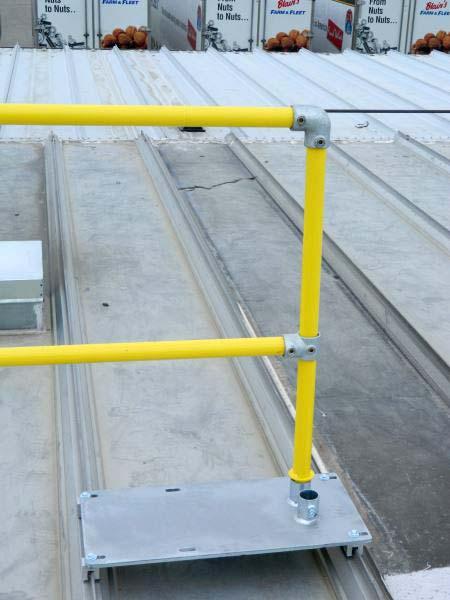 Steel Galvanized Guardrails - Finishing Kit