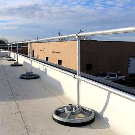 Steel Non-penetrating & Fixed Guardrails