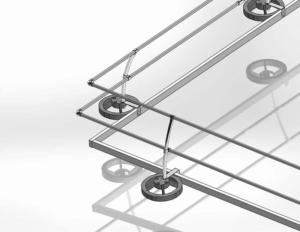 Steel Galvanized Modular Guardrails - Toeboards