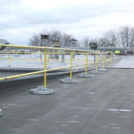 Steel Non-penetrating & Fixed Guardrails