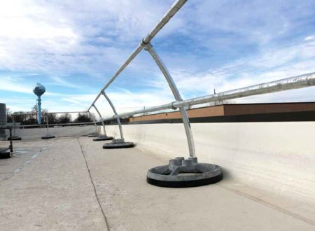 Steel Galvanized Guardrails - CURVED SYSTEM