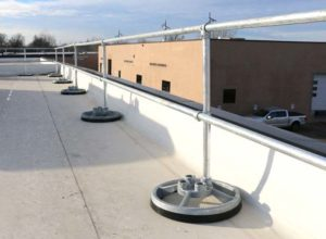 Steel Modular Guardrails - STRAIGHT SYSTEM