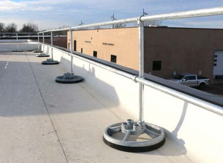 Steel Galvanized Guardrails - STRAIGHT SYSTEM