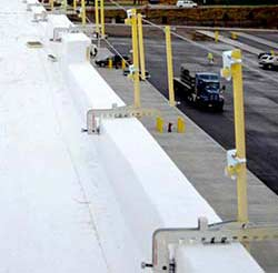 Portable Cable Guardrail