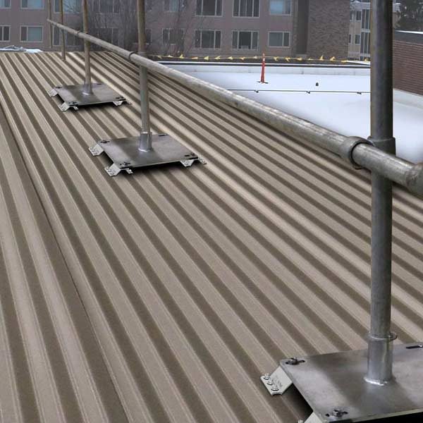 Steel Galvanized Guardrails - CORRUGATED METAL DECKS