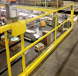 Horizontal Mezzanine Safety Gate