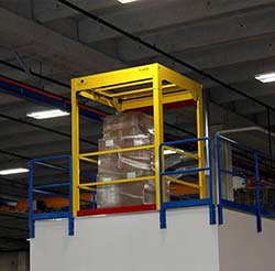 Mega Dual Mezzanine Safety Gate