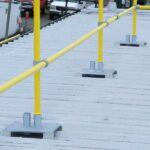 Steel Galvanized Guardrails - R-PANEL METAL DECKS