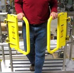 Split Self-Closing Safety Gate