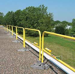Steel Non-penetrating Guardrails