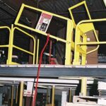 Ground Pole  -Mini Dual Mezzanine Safety Gate