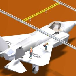 Hangar Positioning Bridge System