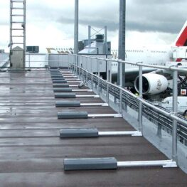 Aluminum Non-penetrating Guardrail Accessories
