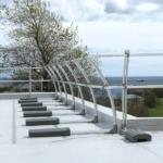 Aluminum Non-penetrating Modular Guardrails
