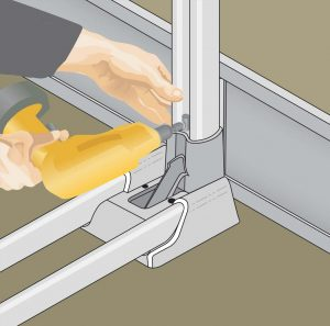 Aluminum Modular Guardrails - Toeboards