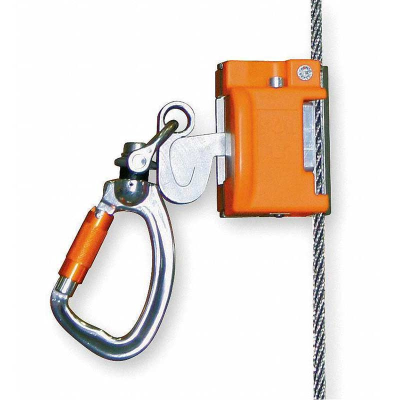Automatic Pass-Through Cable Sleeve w/ integral swivel and carabiner