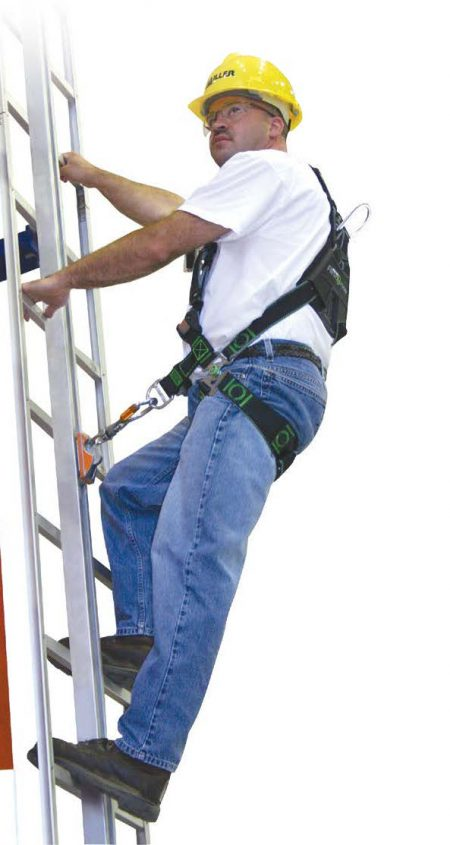 Ladder Rigid Track Fall Arrest