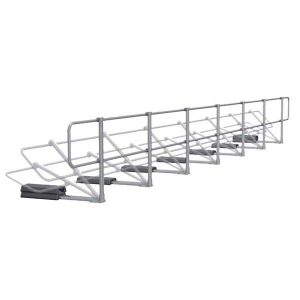 Aluminum Modular Guardrails - Folding Upright