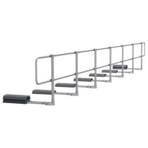 Aluminum Modular Guardrails - Straight Upright