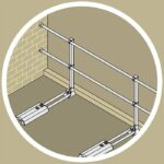Aluminum Modular Guardrails – Wall End Termination