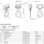 8mm Detachable Traveller for Horizontal Lifeline Systems